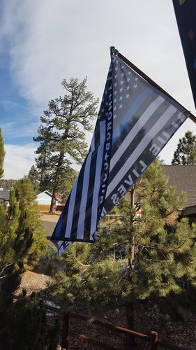 Blue Live Matters - Duty, Honor, Courage Thin Blue Line ...