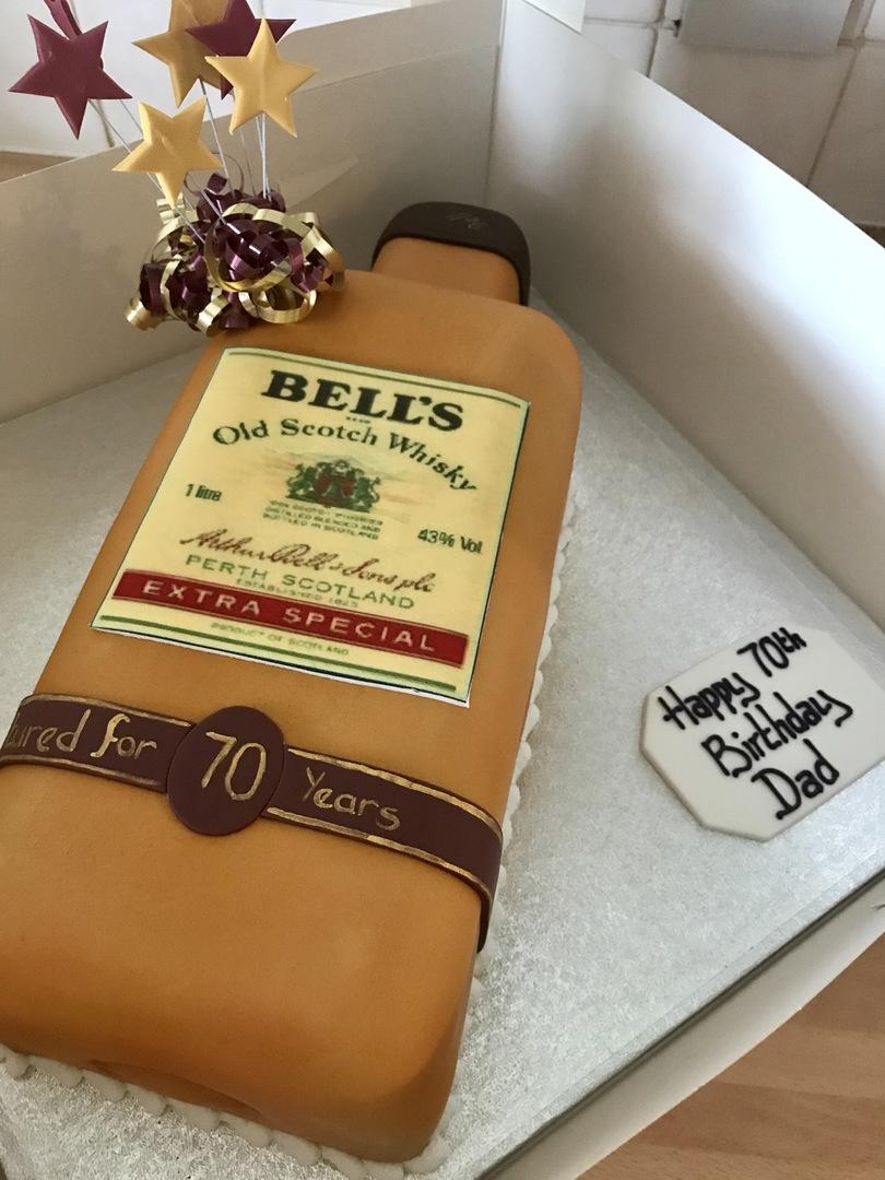 Whiskey Bottle Cake Birthday Cakes The Cake Store