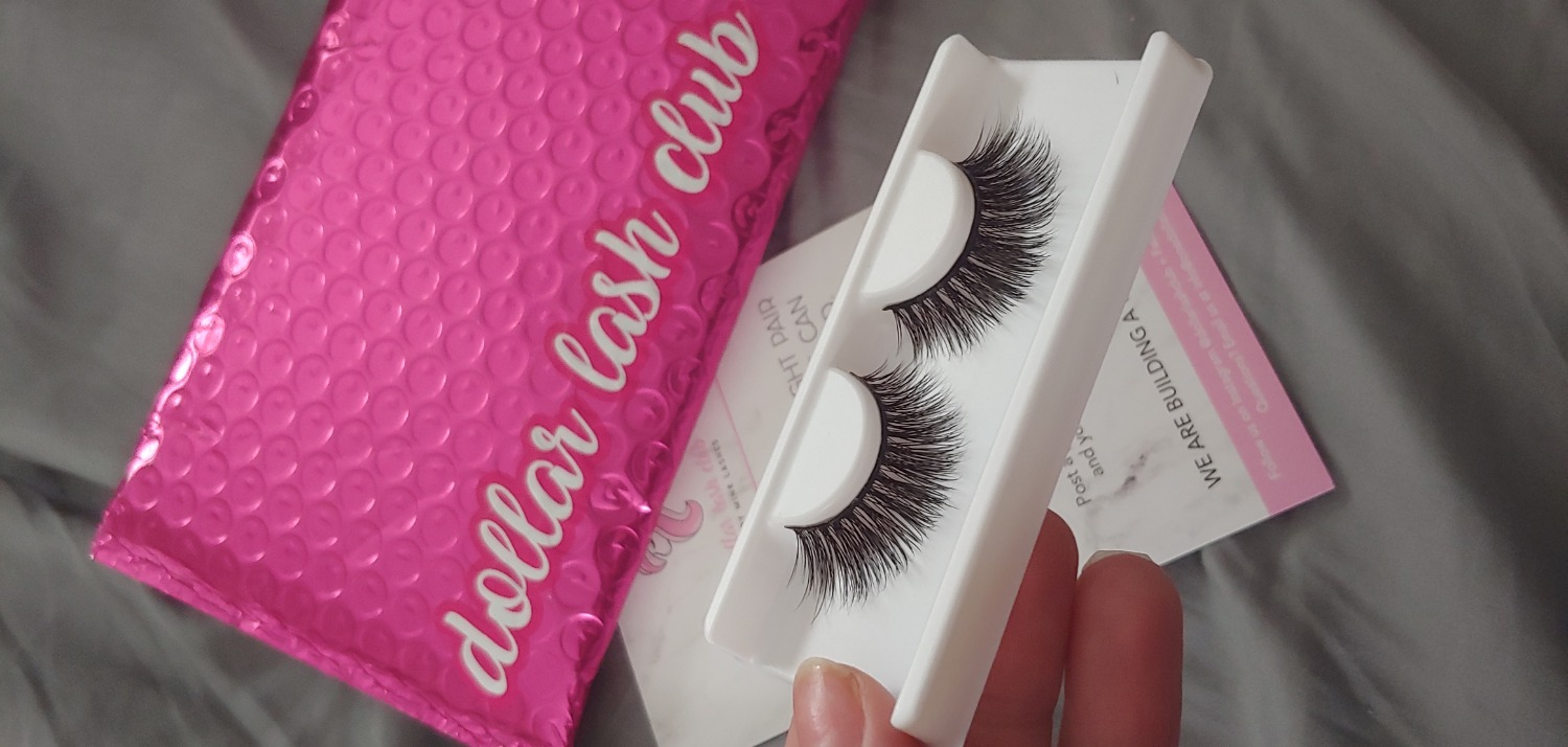 627167f0c39 Over all I enjoyed ordering it was simple and safe the lashes do look a bit  different in person so I'll probably change which set I get for the next  month!