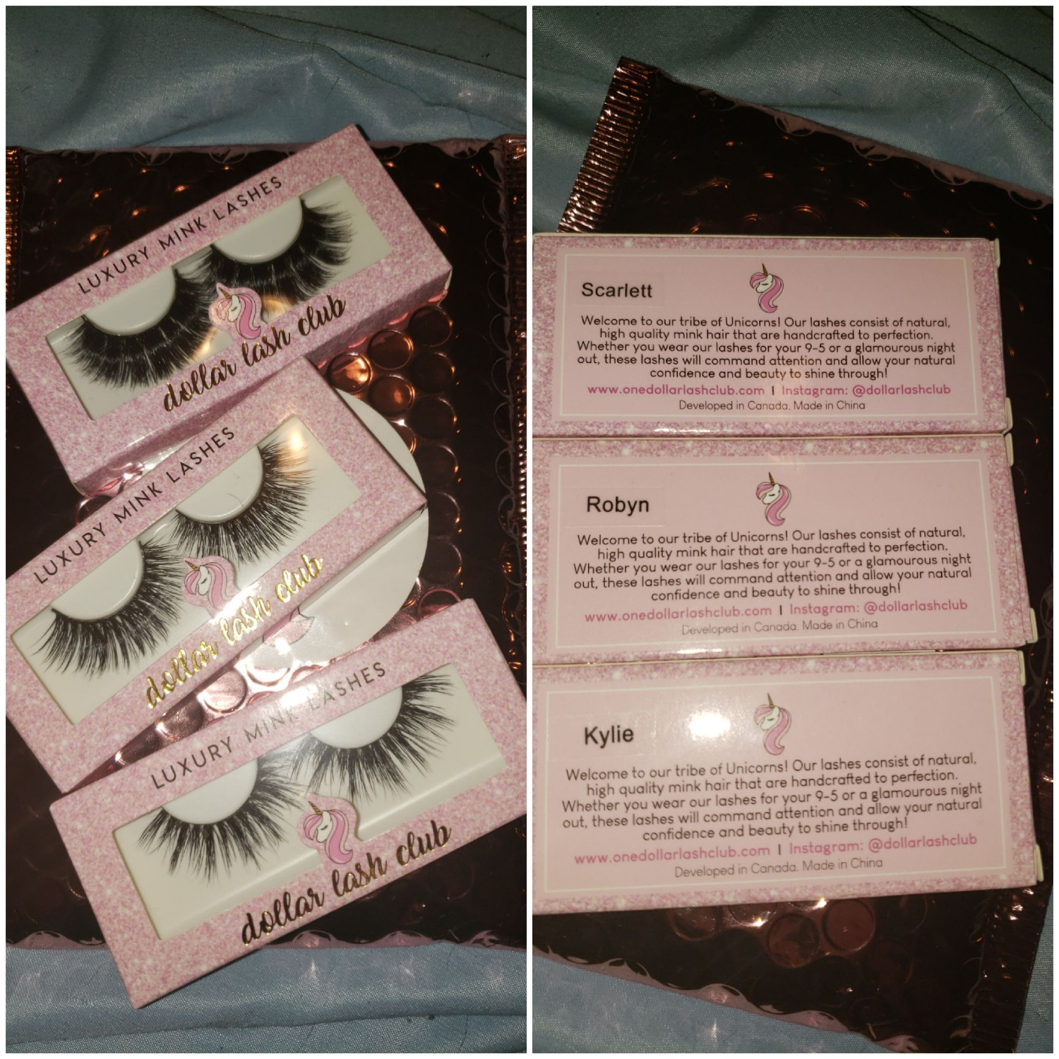b8dd501b550 I ordered the Robyn, Scarlett and Kylie lashes. They arrived quickly and  are absolutely gorgeous. These lashes are great quality and the easiest to  put on, ...