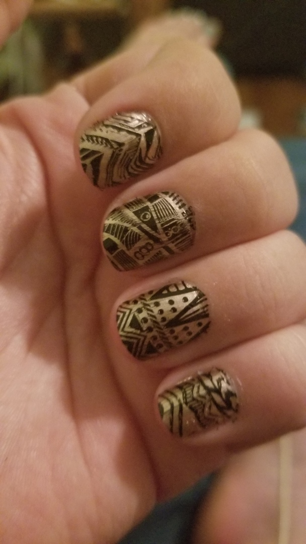 Tribal Fever Deluxe Nail Stamping Kit Series – b.m.c by Bundle Monster