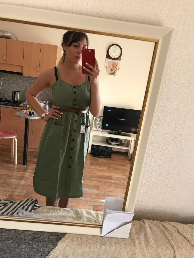 04bbadfd3037 Eliza Bennett verified customer review of Candace™ - Vintage Sexy Summer  Dress
