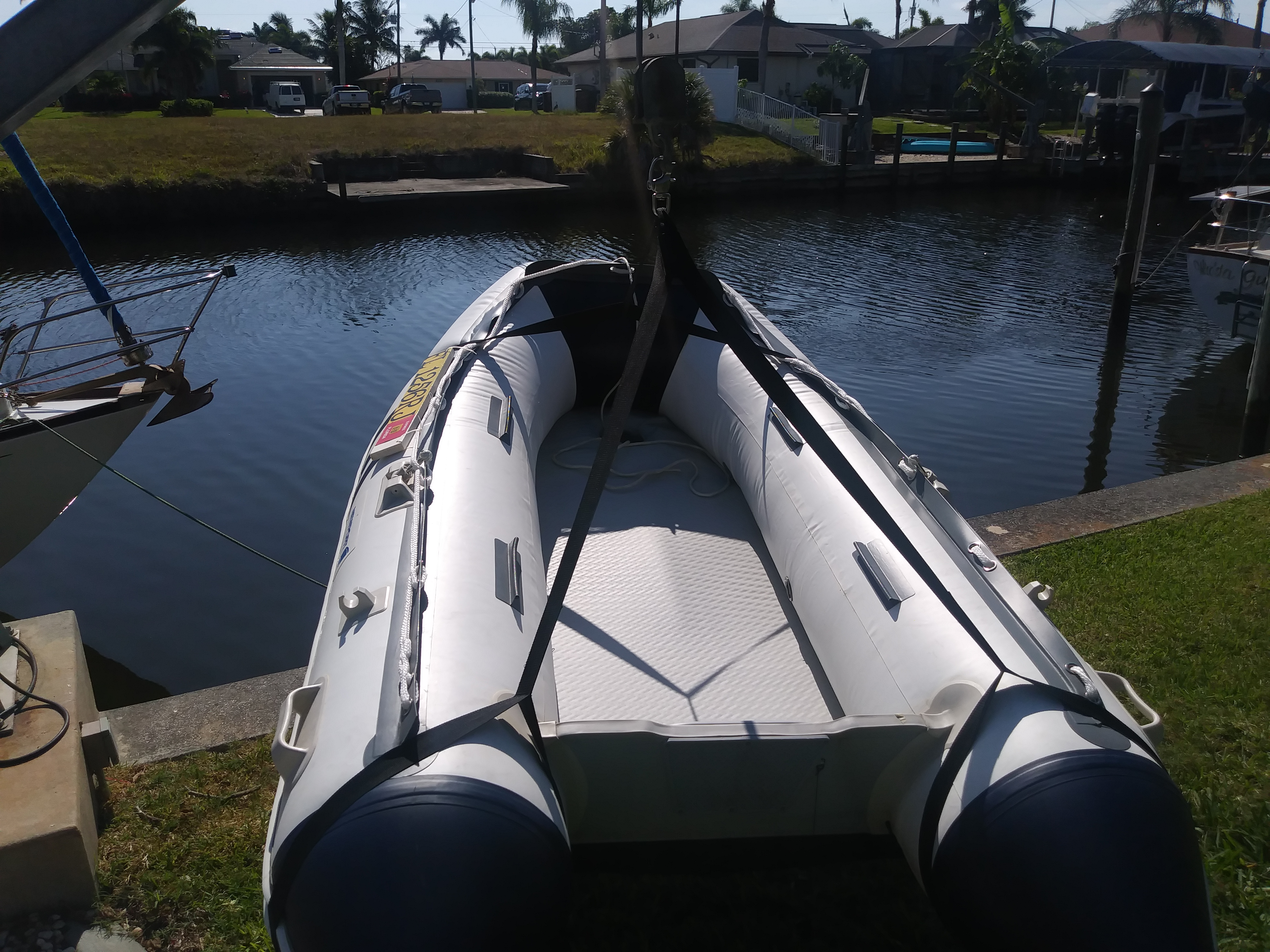 what a great boat  love the air floor for my application  easy to stoor in  the sailboat without thehard floor  love the 18in tubes and it is the one  main