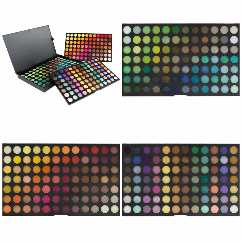 ultimate 252 color eyeshadow palette coastal scents
