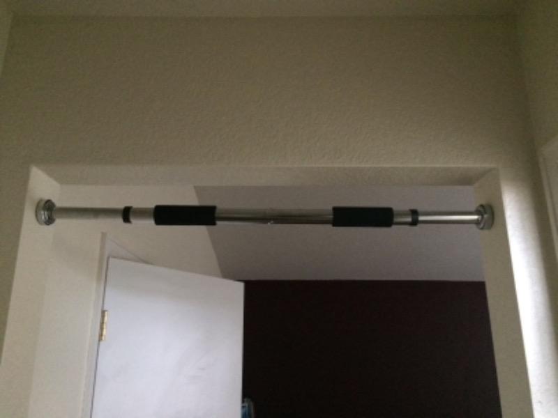 Doorway pull-up bar & Doorway Pull-Up Bar - ProSource