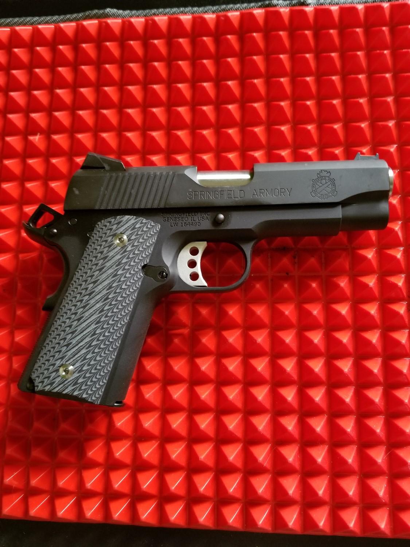 1911 Ridgebacks Brown Black G10 - LOK Grips