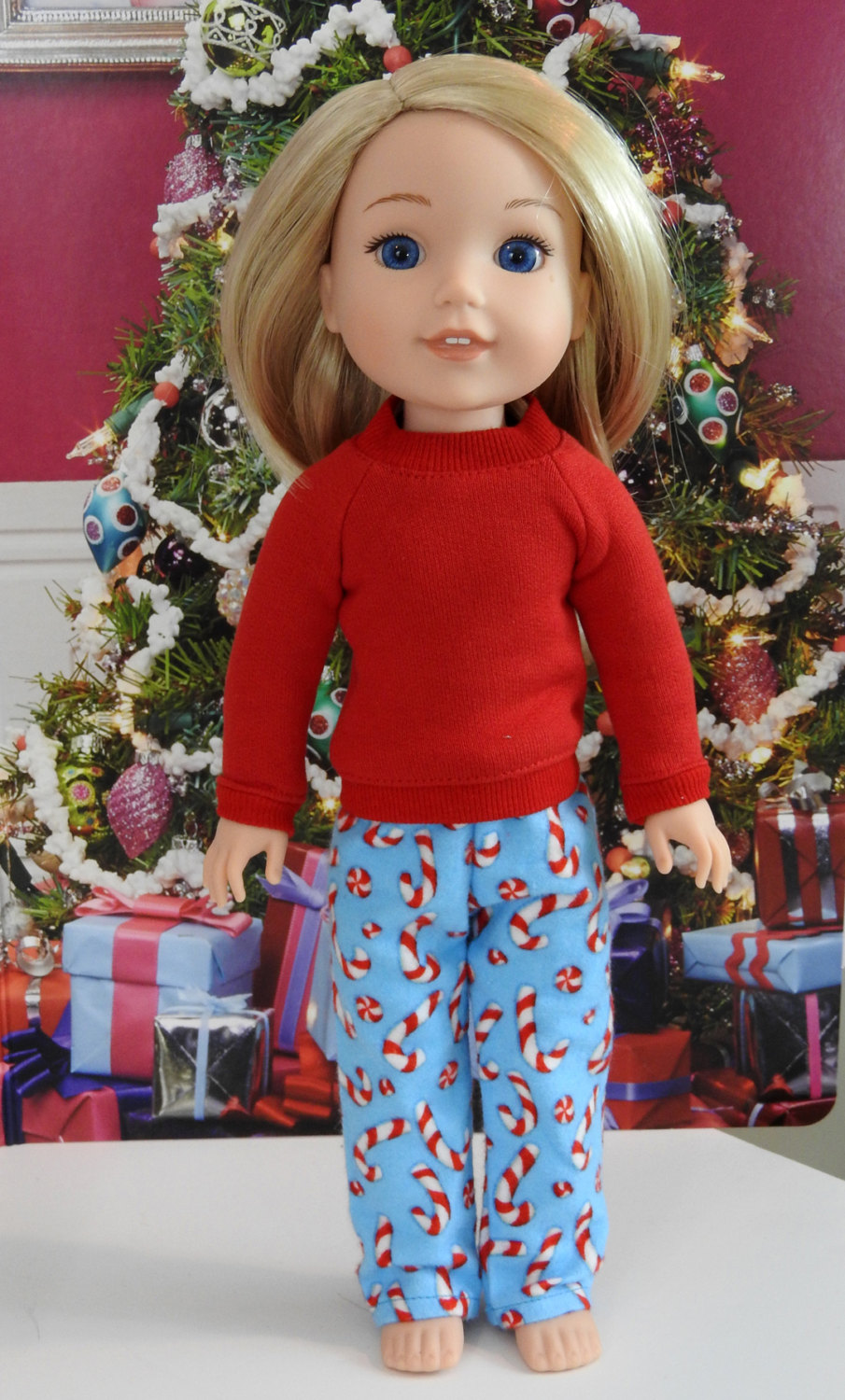 Piccadilly PJs For WellieWishers Dolls