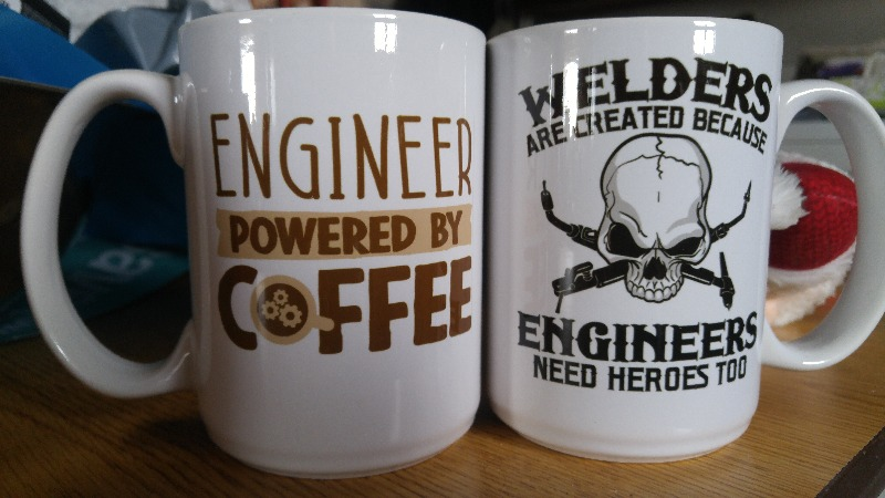 Engineer Powered by Coffee - Mug