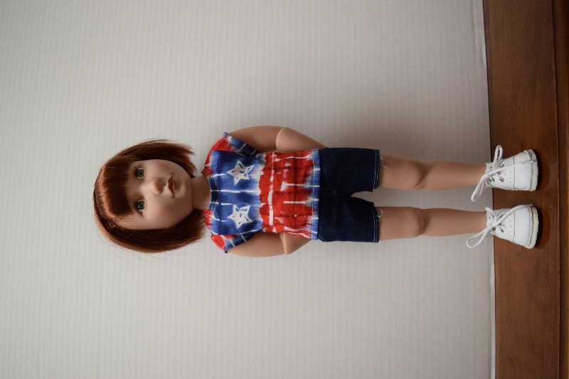 Skinny Jeans and Shorts For AGAT Dolls