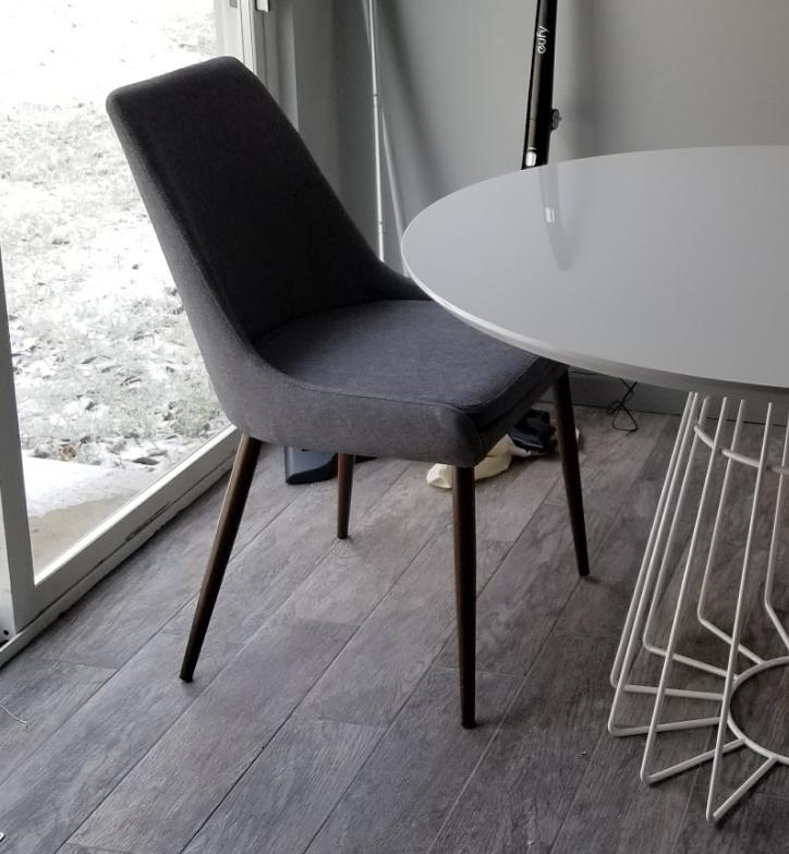 ... Yetunde M. verified customer review of Set of 2 - Ethen Dining Chairs & Set of 2 - Ethen Dining Chairs u2013 Poly u0026 Bark