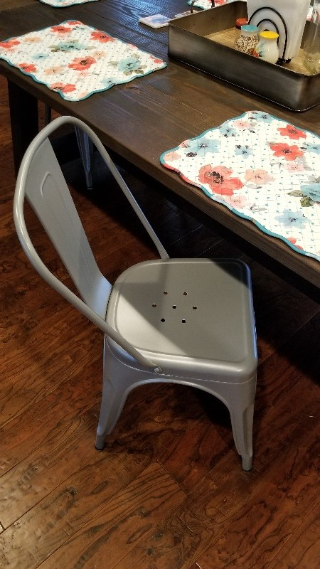 Remarkable Poly And Bark Trattoria Side Chair In Distressed White Set Bralicious Painted Fabric Chair Ideas Braliciousco