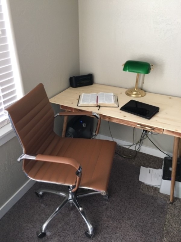 Eames Style Ag Management Office Chair In Vegan Leather