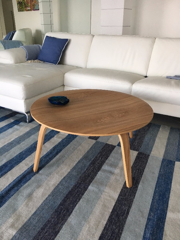 Eames Style Wood Coffee Table (CTW)