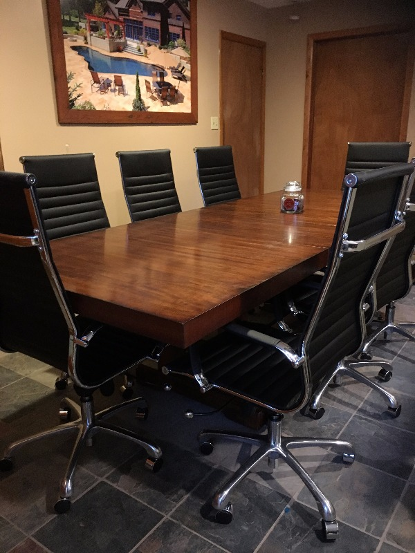 eames ribbed chair tan office. Michelle R. Verified Customer Review Of Ribbed High Back Office Chair In Vegan Leather Eames Tan N