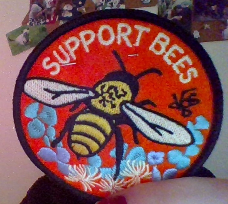 Support Bees Patch