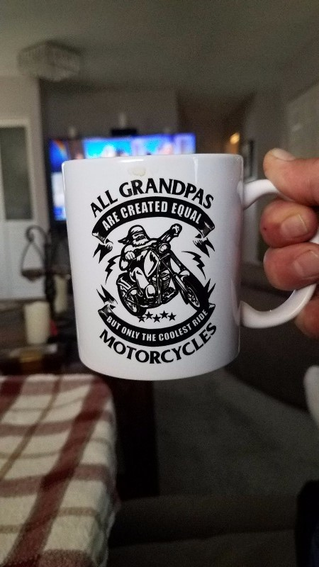Only the Coolest Grandpas Ride Motorcycles - Mug