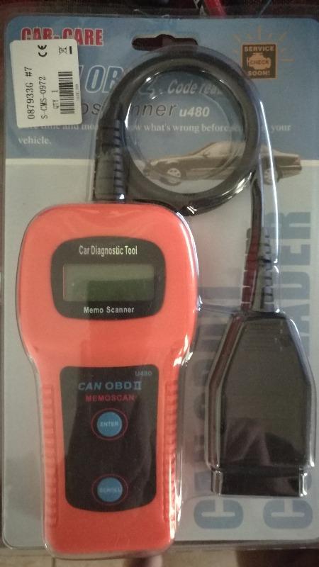 U480 CAN OBD 2 / EOBD 2 Memo Scanner / Code Reader