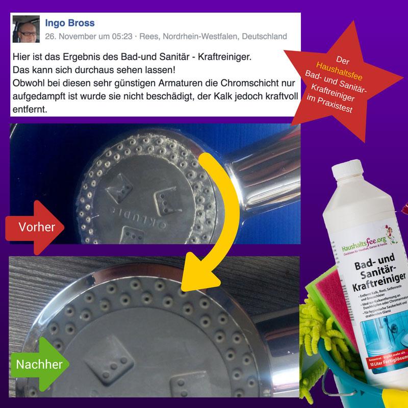 kundenmeinungen zum bad- und sanitär-kraftreiniger | haushaltsfee.org - Bad Und Sanitar