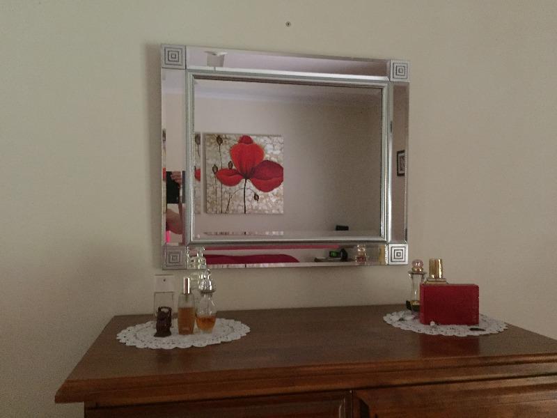 Silver full length mirror australia