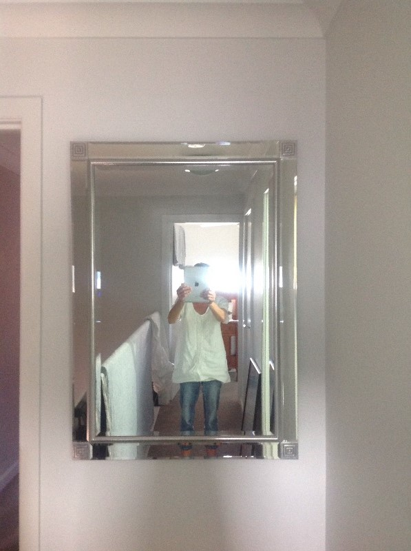 Silver full length mirror australia