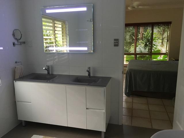 builder line backlit bathroom mirror bsl97c