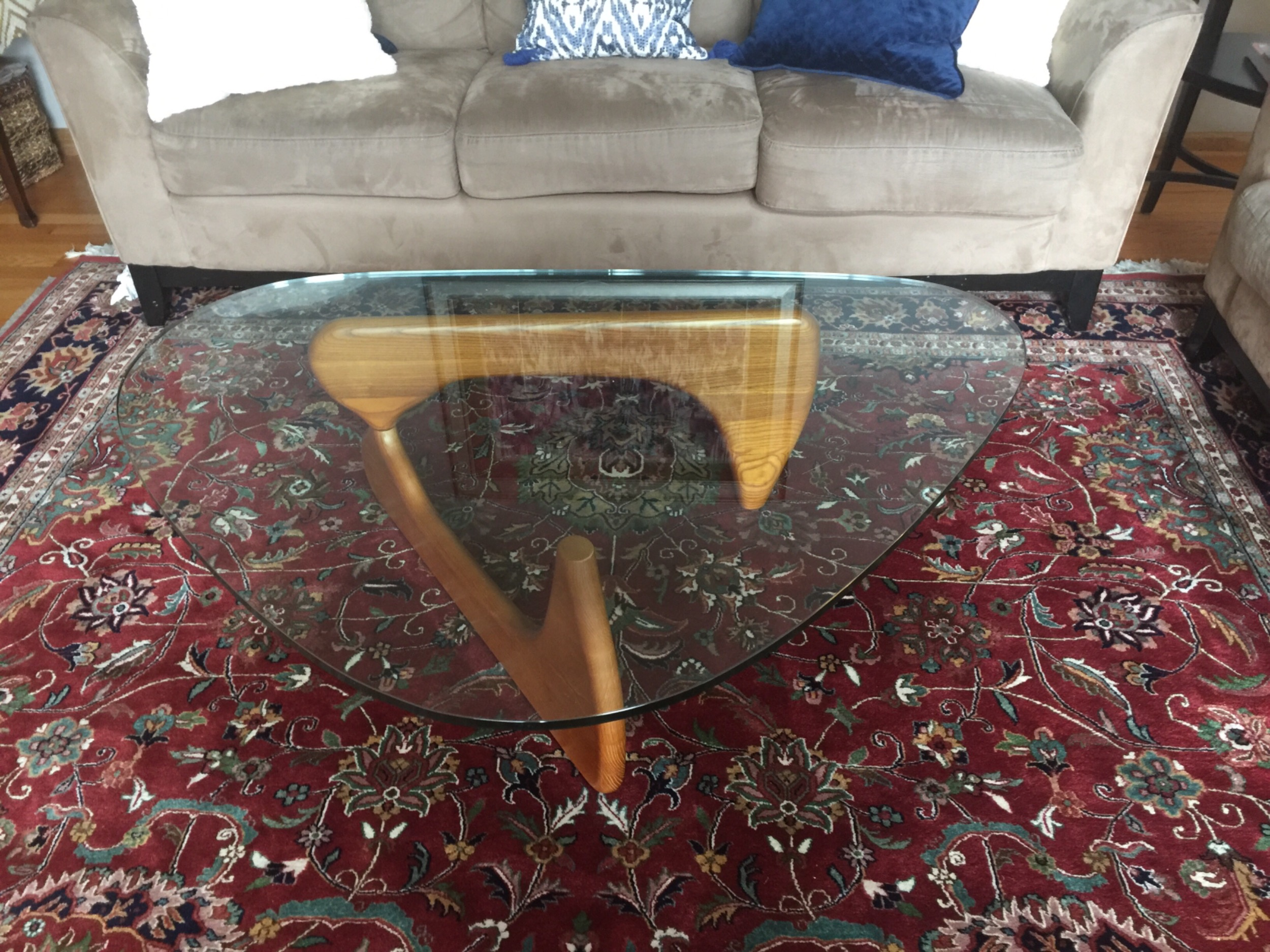 Isamu Noguchi Style Coffee Table – Poly Bark