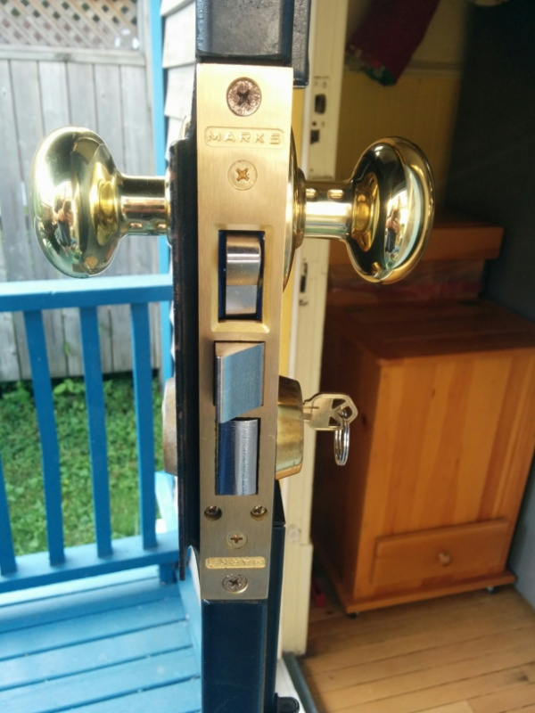marks lock 22ac ornamental iron mortise lock security door lock