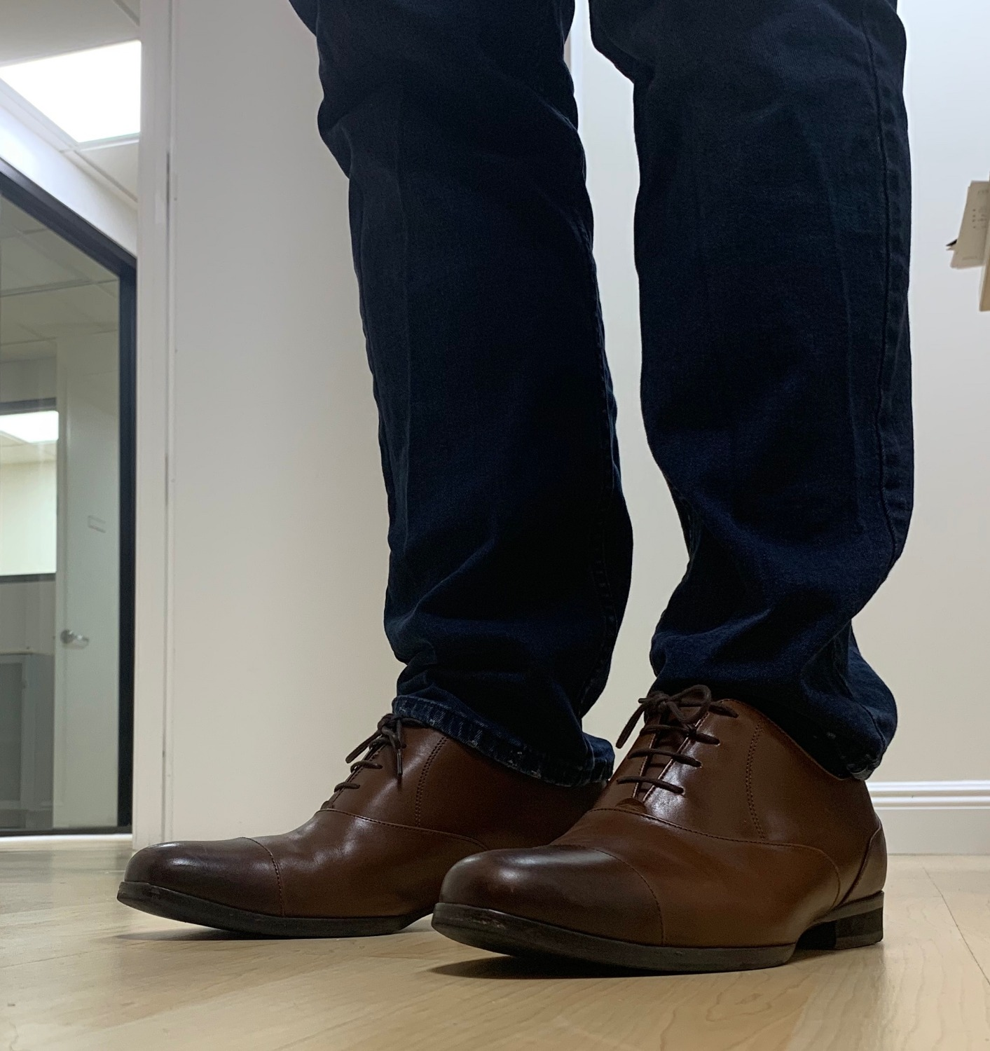 65f1585b3d I bought the Closer Cap Toe in Maple color and after 2 months wearing  these, I have to say that this are my favorite shoes to wear to work.