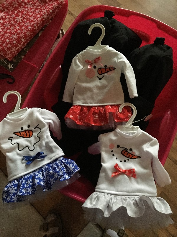 Girl and Doll Matching Skirt Bundle