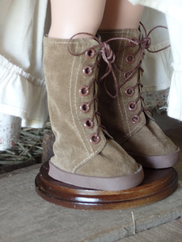 Lace-Up Boots for AGAT Dolls