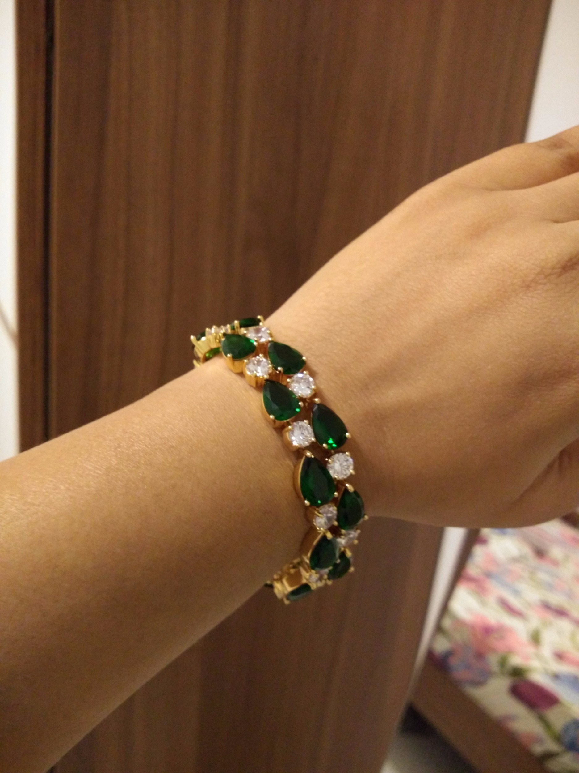 emerald kwon jennie bracelet diamond designs drop moon products
