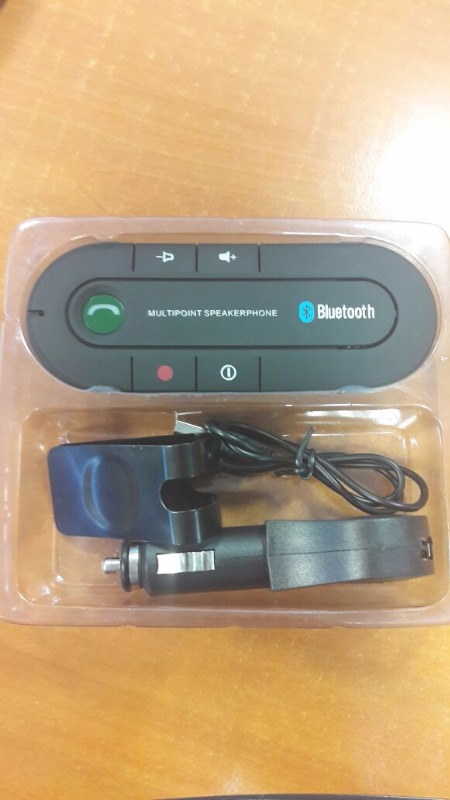 Bluetooth V4.1 Hands Free Kit Transmitter with SIRI / Music(Black)