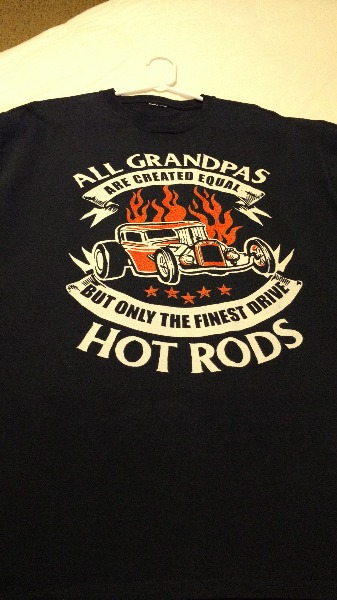 Only the Finest Grandpas Drive Hot Rods