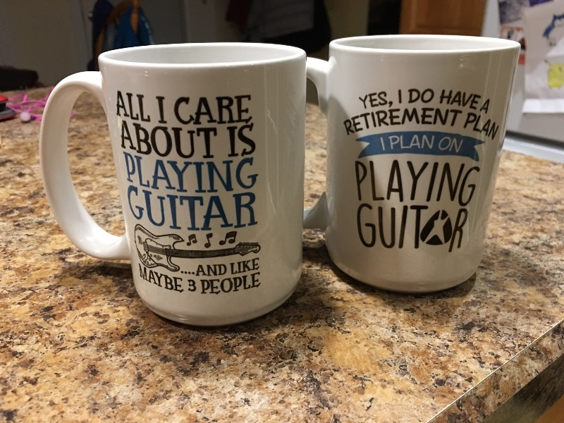 All I Care About is Playing Guitar - Mug