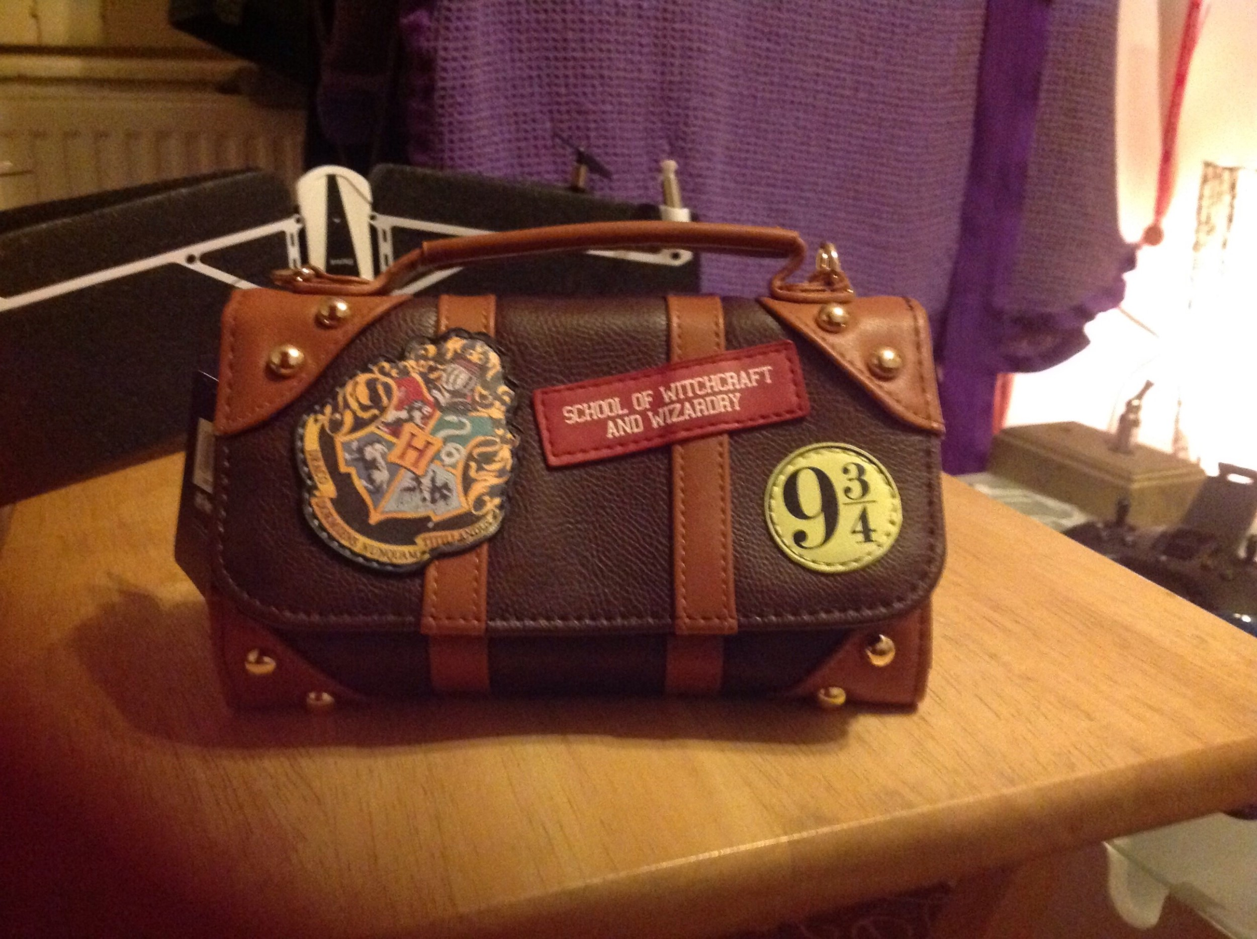 Harry Potter™ Officially Licensed Luggage Style Purse / Handbag