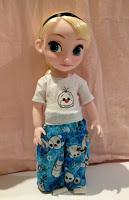 Piccadilly PJs for Disney Animators' Dolls