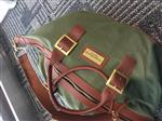 William B. verified customer review of Green Weekender Bag
