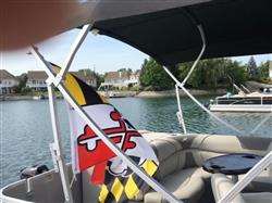 Cheryl C. verified customer review of Maryland Flag with Natty Boh Logo *Horizontal* / Flag