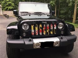 Maryland Flag / Jeep Grill