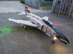 Mark S. verified customer review of Freewing F-4D Phantom II 90mm EDF Jet - ARF PLUS