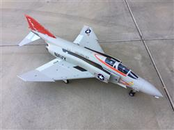 AZFlyer verified customer review of Freewing F-4 Phantom II Ghost Grey 90mm EDF Jet - PNP