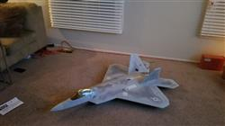 Christopher G. verified customer review of Freewing F-22 Raptor 90mm EDF Jet - ARF PLUS