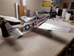 Dale Y. verified customer review of FMS P-51D Mustang V8 Big Beautiful Doll 1450mm (57) Wingspan - PNP