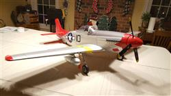 Mark S. verified customer review of FMS P-51D Mustang V8 Red Tail 1450mm (57) Wingspan - PNP