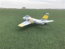 Mike F. verified customer review of Freewing F-86 Sabre 80mm EDF Jet - PNP
