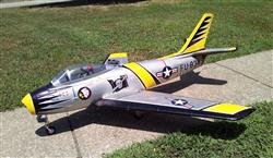 Garry T. verified customer review of Freewing F-86 Sabre 80mm EDF Jet - PNP