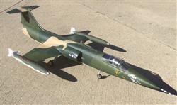 Michael R. verified customer review of Freewing F-104 Starfighter Camo 70mm EDF Jet - ARF PLUS