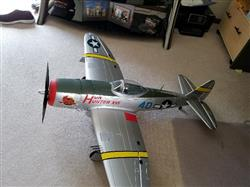 Steve S. verified customer review of Dynam P47-D Thunderbolt with Gyro 1220mm (48) Wingspan - RTF