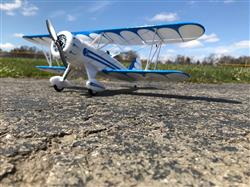 Chris H. verified customer review of E-flite UMX™ Waco BL BNF Basic with AS3X 550mm (21) Wingspan - BNF
