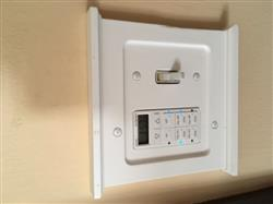 Arlene B. verified customer review of Mantel White Wood - 1 Toggle / 1 Rocker Wallplate